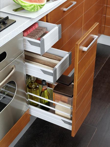 Funkcjonalne szafki kuchenne psb mr wka - Tiroir de cuisine coulissant ikea ...